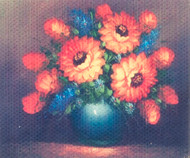 Tableau on Canvas/Flowers
