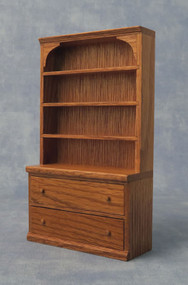 Oak Shelf Dresser