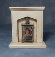 Fire Surround & Wood Burner