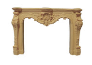 Carved Fireplace Cream