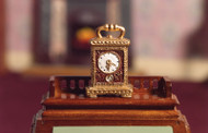 Golden Carriage Clock