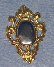 Small Fancy Gold Wall Mirror 30mm