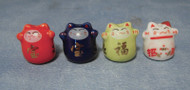 Small Chinese Lucky Cat Pots