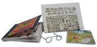 Glasses, Newspaper & Magazine