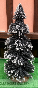 Large Snowed Christmas Tree 200mm (1)