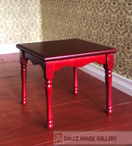 Mahogany Square Table