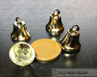 Four 14mm Silver Liberty Bells