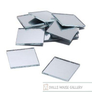 Square Mirror 1 Inch (10 Pack)