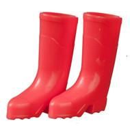 Light Red Outdoor Wellington Boots