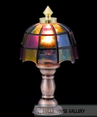 24th Scale Tiffany Table Lamp