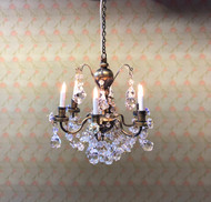 Real Crystal Chandelier Renaissance Antique (6-Arm)