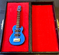 Light Blue Gibson Guitar