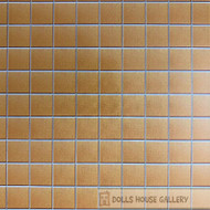 Laminated Tile Sheet Flooring Light Terracotta