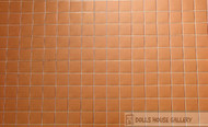 Laminated Tile Sheet Flooring Red Terracotta