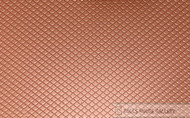 Roof Tile Red 4mm Scalloped Shell Type