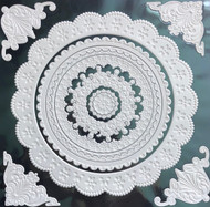 Decorative 3D Embossed Wall / Ceiling Designs