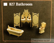 1/12th Scale Bathroom Furniture Set
