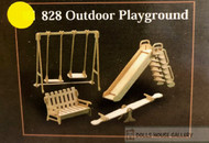 1/12th Scale Outdoor Playground Set
