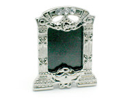 Silver Photo Frame with Embedded Jewels