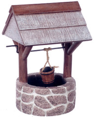 Large Fieldstone Garden Wishing Well