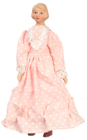 Mother Doll In Pink Dress