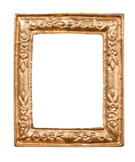 Gold Picture Frame 4cm by 3.5cm