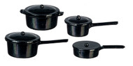 Black Pot Set