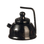 Black Tea Pot With Lid