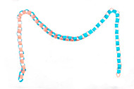 Blue & Pink Paper Chain
