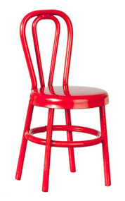 Small Child's Red Chair