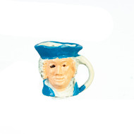 Blue Toby Die Cast Mug