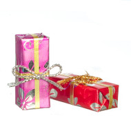Christmas Or Birthday Presents 2 Pack - 3cm Long