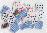 Deck of Playing Cards Blue Back