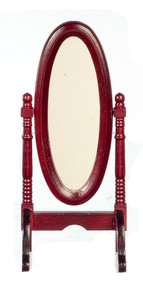 Cheval Mahogany Swivel Dress Mirror