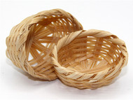 Two Small Oval Baskets