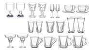 Mixed Glasses Set 22 Pieces