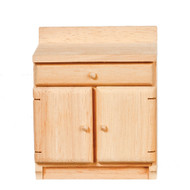 Kitchen Cabinet Bare Wood