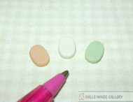 3 Bars Of Oval Pastel Soap