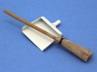 Sweeping Brush & Cream Dustpan