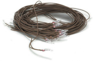 1 Flame Bulb With Brown Wire