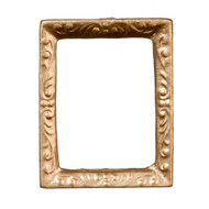 Small Gold Picture Frame 2.5cm by 2cm