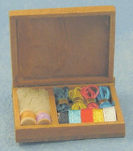 Box of Sewing Items