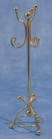 Brass Coat & Hat Stand