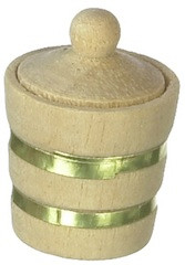 Wooden barrel with Lid