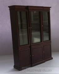 Quality Mirrored Mahogany Cabinet
