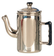 Metal Coffee Pot With Removeable Lid