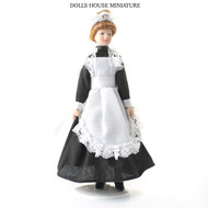 Porcelain Maid Doll With Stand Included