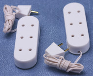 Pack Of Two Triple Extensions / Sockets