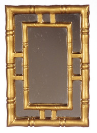 Wall Mirror Gold Double Frame