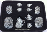 15 Piece 1930's Design Coffee Set